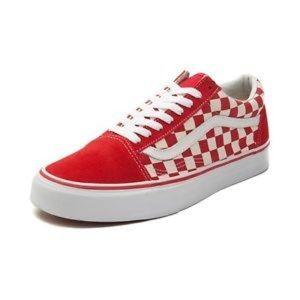 Red Checkered Old Skool Vans